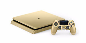 Brand New Limited Edition Gold Ps4 1Tb