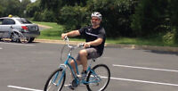 Learn to ride a bicycle! One-on-one lessons for all ages