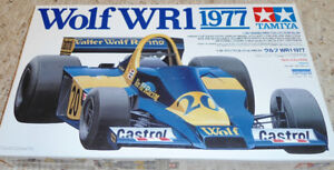 Tamiya 1/20 Wolf WR1 1977