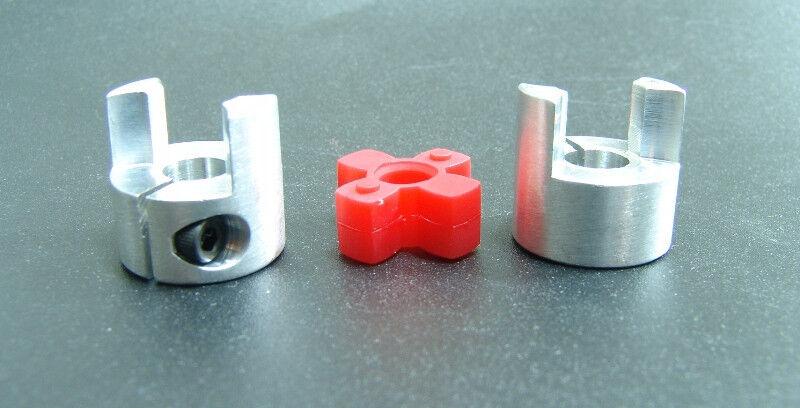 "10mm x 3/8"" Small Jaw Coupler Ballscrew CNC Shaft Spider Stepper Motor Coupling"