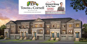 TOWNS OF CORNELL MARKHAM Tiffany Park Homes Highway 7 Townhomes