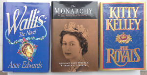 3 hardcover First Editions of books about The Royal Family Oakville / Halton Region Toronto (GTA) image 1