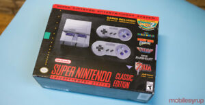 SNES CLASSIC Modded 160 Games for sale