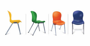 *** Buy 3 get 1 Free - Clearance - Stackable Chairs ***