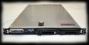 Dell Server 1U Dual Core 2.66 GHz 8 GB RAM 300 GB HDD