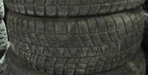 2 Tires sized 245.70.17 at 75% Tread left on them Selling for $2