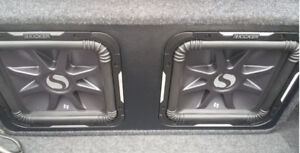 2 12 Inch Kicker L7s brand new never used in ported factory box
