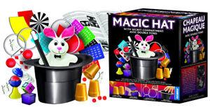 Brand New Hanky Panky Magic Hat 125 Tricks Set