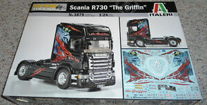 "Italeri 1/24 Scania R730 ""The Griffin"""