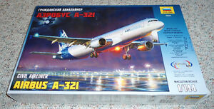 Zvezda 1/144 Airbus A321 House color