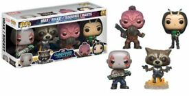 Marvel Guardians Of The Galaxy 2 Funko POP! Bobble 4-Pack #1