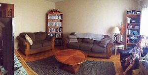 In Peterborough. Couch & Love Seat and coffee table  Kawartha Lakes Peterborough Area image 2