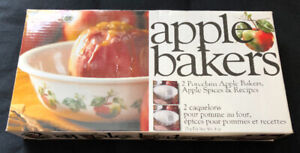 Set of 2 Apple Bakers