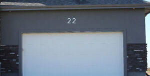 LARGE MODERN METAL HOUSE NUMBERS by HOUSE NUMBER KING Peterborough Peterborough Area image 6