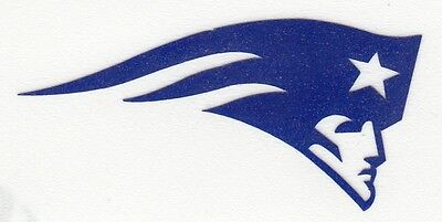 REFLECTIVE New England Patriots 2 inch fire helmet hard hat decal sticker RTIC