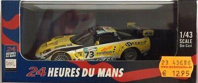 1/43 Ixo Chevrolet Corvette C5-R no 73 Le Mans 2007 Andre-Blanchemain-Vosse