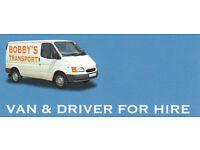 Van & driver with mate