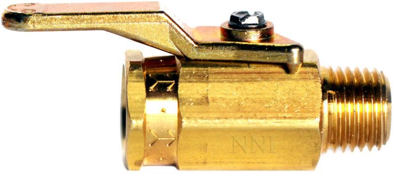 "1/4"" Female x Male NPT Mini Brass Ball Valve 500 Psi Fuel oil Gas Marine USA"