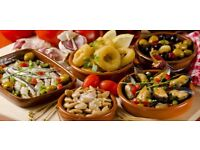 Looking for Spanish Tapas Chef