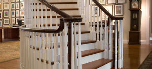 Stair parts : Iron railing on sale, Treads, Handrail, Post