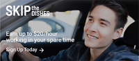 EARN UP TO $25/HR ● FLEXIBLE HOURS ● DELIVERY ● PAID WEEKL