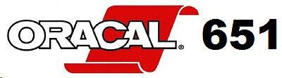 """Oracal 651,Overstock items, Matte black cut off rolls 4 rolls @ 1.75"""" x 150 feet"""