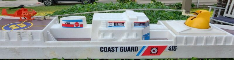 Vertibird Coast Guard Rescue Ship reproduction decals/stickers and deck inserts