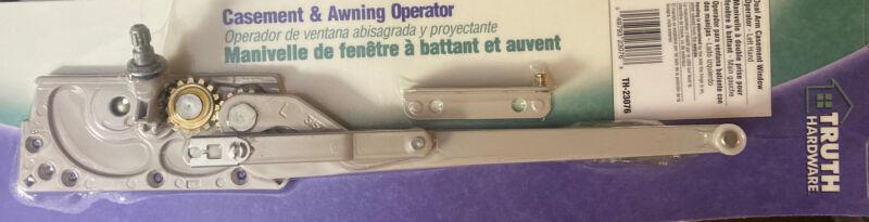 Prime-Line Dual Arm Casement Window Operator Hardware - Left Hand (TH-23076)