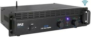 PYLE PTA1000 BLUETOOTH PROFESSIONAL POWER AMPLIFIER - POWER UP YOUR PARTY WITH YOUR MUSIC