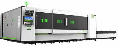 New Ipg Fiber Optic Laser 3000watt Sheet Metal Cutter 5x10 Table 2 Year Warranty