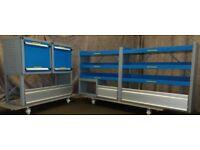Bott Van racking, Van shelving, Van Drawers, B146