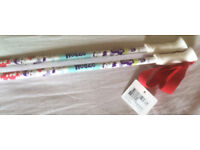 a pair of BRAND NEW WEDZE ski poles for kidz WHITE - 90cm