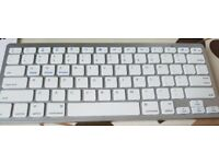 5x(MCSAITE 450 Ultra Thin Portable Standard 78-Key Wireless Bluetooth Keyboard G1U2