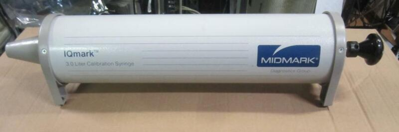 Midmark IQmark Spirometry Calibration Syringe pump 3 LITER read description