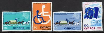 Cyprus MNH 1975 SG439-42 Anniversaries and Events