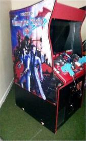 Rare Vampire Night Arcade Machine - Namco 2000