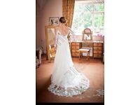 Maggie Soterro stunning wedding dress
