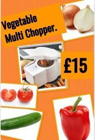 Vegetable multi-chopper