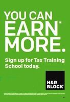 Learn to Earn $$ with H&R Block