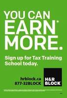 ** NEW – Get a career in tax preparation **