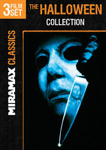 HALLOWEEN COLLECTION 3 FILM SET New DVD Curse of Michael Myers H20 Resurrection