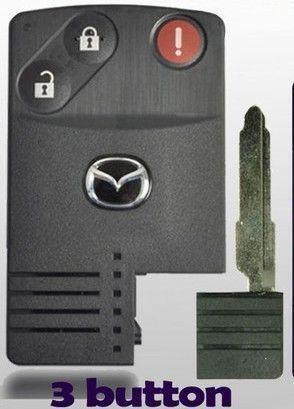 Mazda 3 Key Fob Battery >> Mazda Smart Card: Keyless Entry Remote / Fob | eBay