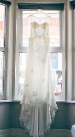 Lusan Mandongus size 10/12 wedding dress