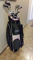 Womens Golf clubs and Bag