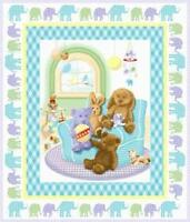 Teddy Bear Fabric & Panel...By Henry Glass