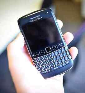 Blackberry Bold the version with a touch screen