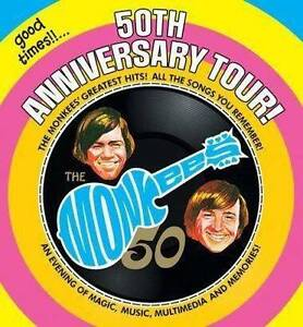 The Monkees - 3rd row from the front - DISCOUNT price - Melbourne Belgrave Yarra Ranges Preview