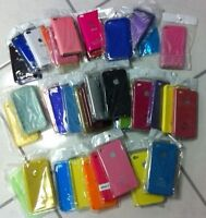 Iphone Ipod 3 4 case cover protection plastique gel silicone NEW