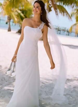 David's Bridal Dress Model V3398