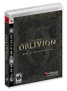 Oblivion PS3 Game of the year edition.
